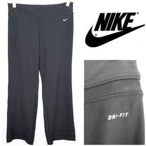Nike Dri Fit Black Wide Leg Yoga/Training Pants